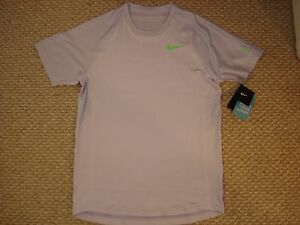 NWT Nike Federer Premier RF 2013 French Open Tennis Shirt 537677-530 Nadal Small