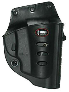 FOBUS RU101BH EVOLUTION BELT  RUGER LCR PLASTIC BLACK