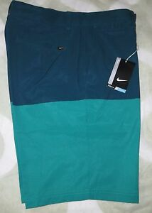 NIKE GOLF SHORTS Modern Print 803047-351 SIZE 34 NWT $85 Just Released