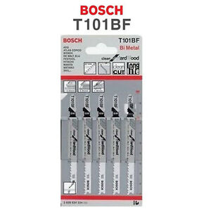 Bosch 5pcs Jig Saw Blades T101BF for Hardwood 2608634234