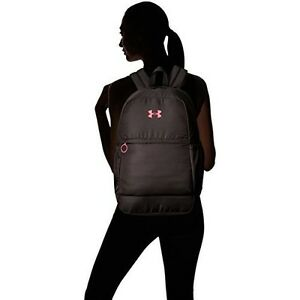 Under Armour Backpack Girls Multiple Interior Tricot Lined Phone Bottle Pockets