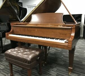 Lovely Steinway Grand Piano Model L (betw M and A B) - VIDEOS