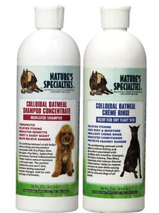 Nature's Specialties Colloidal Oatmeal Shampoo or Creme Rinse 16 oz