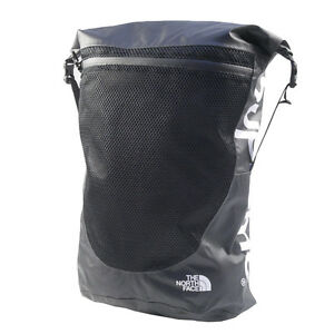 SUPREME  THE NORTH FACE 17SS Waterproof Backpack Backpack BLACK