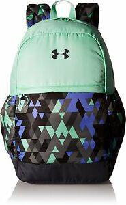 Under Armour Girls Favorite Backpack Stealth GrayCrystal One Size New
