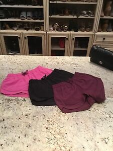 Lululemon Make A Move Shorts Size 4 Lot Of 3 Worn Once Run Speed Hotty Hot