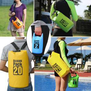 Multi Color Outdoor Backpack Kayak Ocean Pack Waterproof Dry Bag Sack 2L-20L