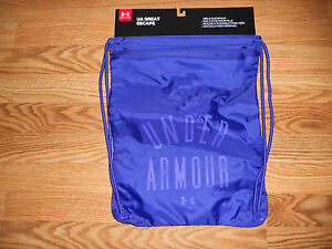 New Girl's Purple Under Armour Great Escape Sackpack
