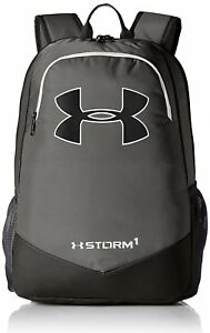 Under Armour Boys' Storm Scrimmage Backpack GraphiteBlack One Size