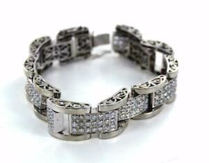 14KT WHITE GOLD 201 11.0 CT DIAMONDS DESIGN 9