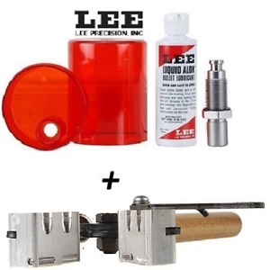 LEE 2 Cavity Mold & Sizing and Lube Kit for 9mm Luger 38 Super 380 ACP # 90305