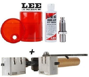 LEE COMBO Double Cavity Mold for 41 Rem Magnum & Sizing and Lube Kit!! #90335