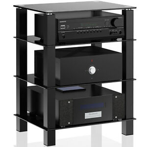 Modern TV Stand Entertainment Center Console Media Home Theater Furniture Shelf