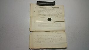 Rare 1862 Civil War Northern Rangers Relief to Fort Abercrombie Sioux Indians