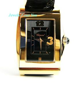 CHOPARD WATCH HAPPY HEART 18K SOLID GOLD 127461 NEW BOX $14420.00