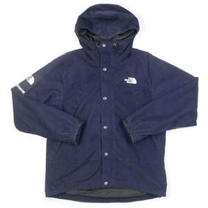 SUPREME  THE NORTH FACE 12 AW Mountain Shell Jacket corduroy NAVY S