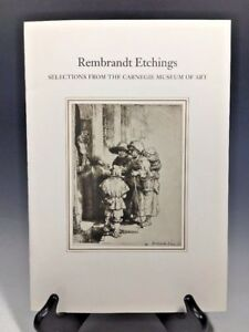 Rembrandt Etchings Selections From The Carnegie Museum Of Art $10.90