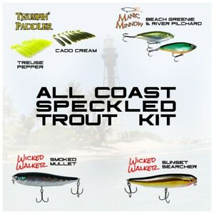 MareaGear lure kit for Speckled Trout - (20pc) All Coast kit - Gulf