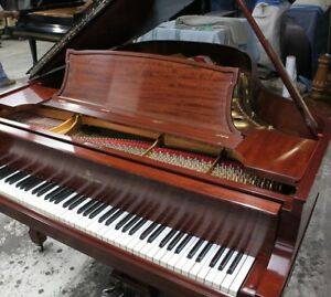 Steinway Mahogany Grand Piano Model L (same as O and betw M and A B)