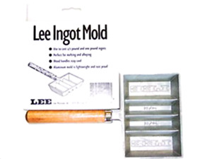 Ingot Mold Lee Precision Casts 12 and 1 Pound Rustproof Aluminum Mold Accessory