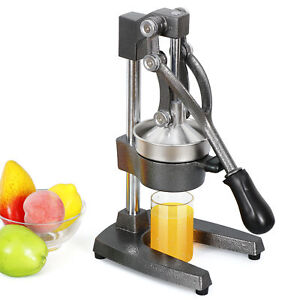 Manual Juice Press Commercial Citrus Press Fruit Manual Squeezer Orange Lemon