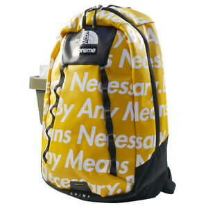 SUPREME  THE NORTH FACE 15 AW Base Camp Crimp Back Pack Backpack YELLOW