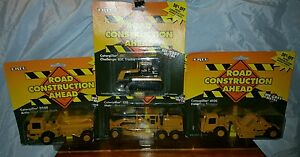 ERTL die-cast construction toys (lot of 4)