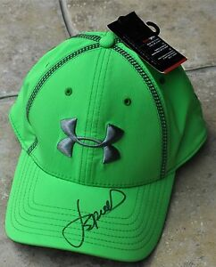 Jordan Spieth Signed Under Armour Cap US Masters 2016 Augusta The Open 2017
