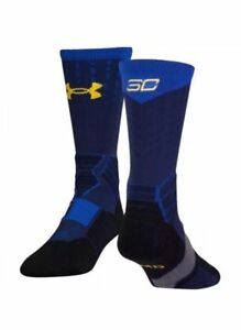 Under Armour Socks Curry SC30 Drive Crew MD FITS SHOES MENS 6-8.5 WOMENS 7-10.5