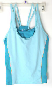 C9 Champion Athletic Shirt for Women Cami Tank Running Yoga Blue L