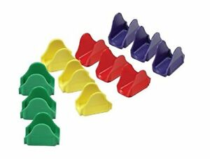 TacoProper Colored Taco Holders Plastic Shell Stands FiestaPak Set Of 12