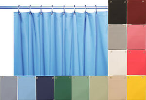 10 Mil Heavy Duty Vinyl Shower Curtain Liner with Metal Grommets size 70 x 72