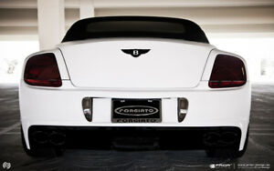 Bentley Continental GT Prior Design Exhaust Tips Fits All Models