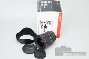 Canon EF 17-40mm f4 f 4 L USM Lens for 7D MK2 6D 5D Mark II MKIII 5DS Boxed