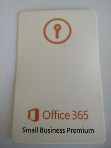 Microsoft Office 365 Business Premium KEYCARD(1Yr1User) LOT OF 5 (SMB Premium)