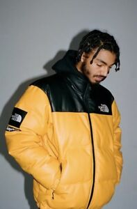 Supreme The North Face Leather Nuptse Jacket PRE-ORDER any size  color box logo