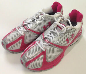 Under Armour Heat Gear Cartilage Size 8.5 Running Walking Shoes Without Box