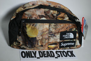 THE NORTH FACE X SUPREME ROO II LUMBAR PACK LEAVES POUCH BACKPACK APEX DUFFLE