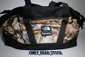 THE NORTH FACE X SUPREME APEX DUFFLE BAG LEAVES POUCH ROO II LUMBAR BACKPACK