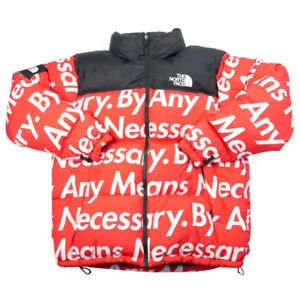 SUPREME  THE NORTH FACE 15 AW Nuptse Jacket RED XL