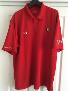Under Armour  HEATGEAR LOOSE FIT LARGE  RED and Short Sleeve POLO