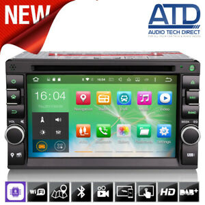 Universal Double DIN Android 9.0 Octa-Core GPS SatNav DAB Radio Bluetooth Stereo