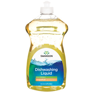 Swanson Dishwashing Liquid Eco Friendly Grapefruit with Citrus Peel Oil