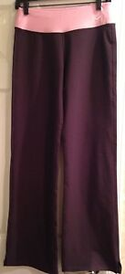 NWOT NIKE DRY FIT Pants Chocolate Pink Combo SIZE  Women S