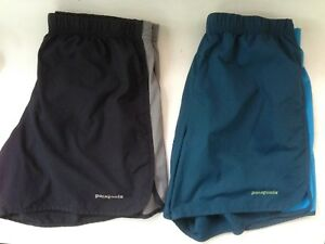 lot of 2 Patagonia Running Athletic Shorts 5