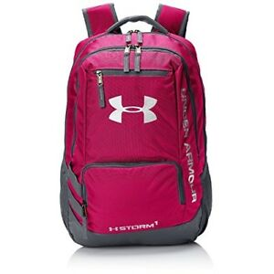 OPENED BOX Under Armour Storm Hustle II Backpack (One Size Tropical Pink)