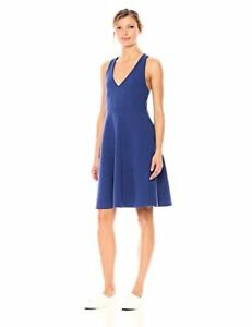 Lacoste Women's Sleeveless Ottoman Fit and Flare Dress - Choose SZColor