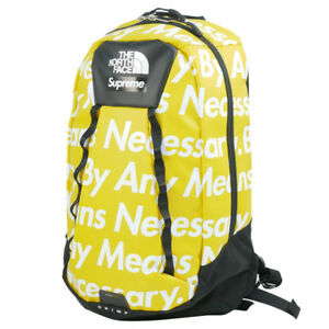 SUPREME  THE NORTH FACE 15 AW Base Camp Crimp Back Pack YELLOW FREE