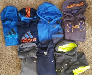 Boys Nike Under Armour Adidas Hoodie  Lot Size Small 8