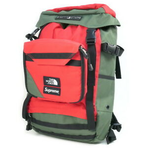 SUPREME  THE NORTH FACE 16SS Steep Tech Backpack Backpack OLIVE